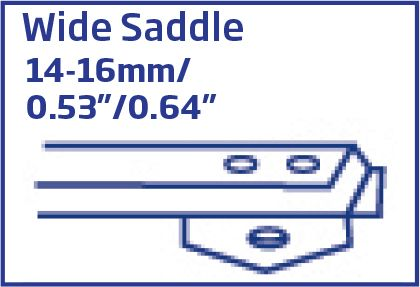 78 Series Wide Saddle